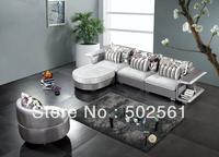2014 new modern comfortable fabric corner sofa sectional leisure living room furniture swivel armchair