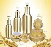 Quality cosmetic bottles acrylic packaging bottle sub-bottling lotion bottle cream jar 30 50 80