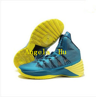 New Hyperdunks Mens Basketball Shoes 2013 Hot Sale Tropical Teal Color fast Shipping