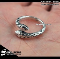 New 2013 sterling silver rings Snake 925 thai silver ring sterling silver 925 pinky ring men jewelry sets vintage items