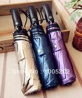 Sun protection fully-automatic wind umbrella dual