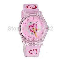 WILLIS 6018 ladies watch Heart-shaped Children's Wrist Watch jelly watch women watches