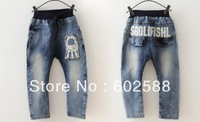High Quality Kids jeans autumn children's clothing child jeans male child trousers pants  jeans in stock