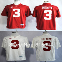 College Alabama Crimson Tide #3 Derrick Henry white/ red ncaa football jerseys mix order free shipping