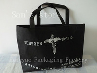 shopping bags,Logo Printing gift bag, promotion packaging + non woven bags