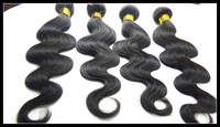"Free Shipping10""-26"" brazilian VIrgin human hair weaves body wavy 4pcs/lot"