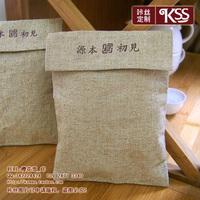 Wire customize coffee gunnysack tote drawstring tea bags cotton bag canvas bags cotton sack