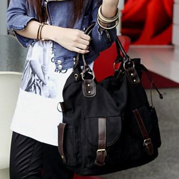 2013 women 's messenger bags Vintage handbags fashion handbag casual canvas shoulder bag for girls Christmas gift free shipping(China (Mainland))