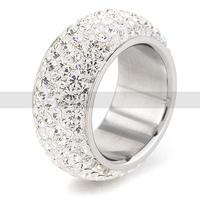 Wholesale High Quality Classic  Six Row  Fashion Jewelry  Wedding Ring FREE SHIPPING