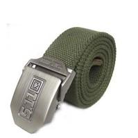 511 khaki canvas belt multiple color  canvas belt  for man