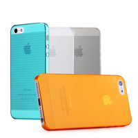 High Quality Ultra Thin Series High toughness Germany Bayer PC Case Cover For Apple iPhone 5/5G/5S