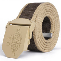 Us canvas belt knitted strap male casual all-match belt male women's lengthen