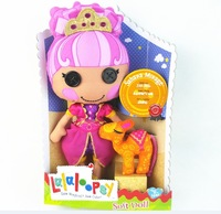 Free Shipping Lalaloopsy doll plush toys,Soft Doll-lalaloopsy girl Sahara Mirage plush doll 26cm&soft pet,dolls for girls