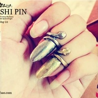 Jz205 m ring personalized fashion small punk finger ring