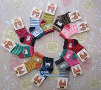Wind rainy winter socks children socks, warm socks 1-3 years old male and female baby baby socks floor socks