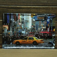 The NEW YORK BROADWAY paiting tin plate signs Art wall decor House Cafe Bar vintage iron Paintings H-15 20*30 CM mixed order
