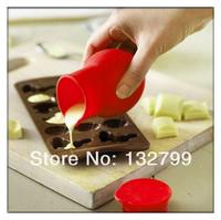 Mini Silicone Chocolate Melting Pot Melt Butter Milk Heating Pourer jug Kitchen Baking Tool