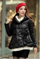 Q6002 princess babydoll berber fleece short design down coat
