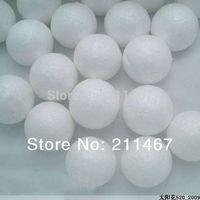 Free shipping 5cm white styrofoam round balls children DIY material foam balls Doll accessories 80pcs/lot