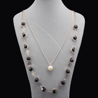 2013 New pendant long necklace for women vintage collar necklace fashion jewelry choker  chain Color Statement Necklace