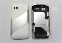 For HTC Sensation Z710e G14  Back Cover Housing  Battery Door  Original New Quality  black /  white Color , Free Shipping