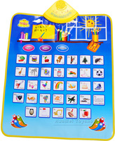 Russian Music Baby Blanket Baby Crawl Mat in Russian Kids Child Toy