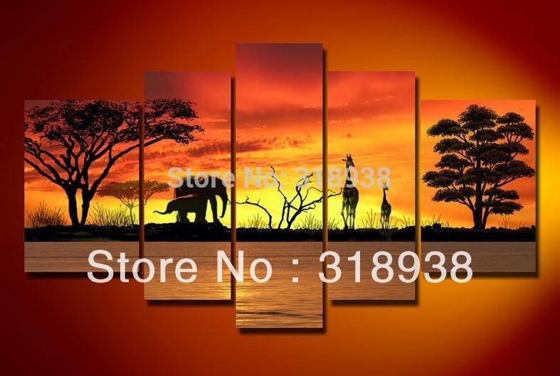 Online Get Cheap Safari Canvas Wall Art