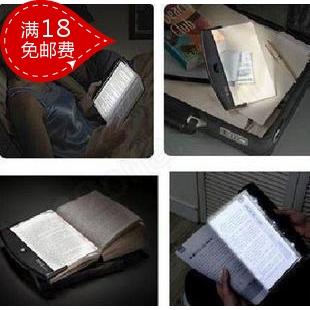 Free shipping Magic reading light household goods novelty electronic product yiwu lounged(China (Mainland))