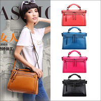 Ol vintage 2013 zipper messenger bag motorcycle bag handbag shoulder bag messenger bag handbag women's 2348