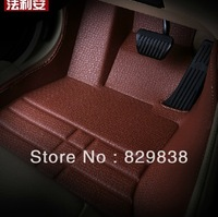 4 colour classic craft car mats leather elegant floor mat car accessories customized for citroen c4 skoda octavia