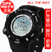 new 2013 smart led digital gps sports watch outdoor climbing navigation compass temperature elevation satellite positioning