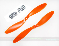 1045 Orange nylon ABS plastic propeller CW&CCW  for Multicopter