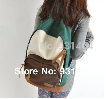 New 2014 Casual Women's Colorful Canvas Backpacks Girl Lady Student School Travel bags Mochila Free&Drop shipping()