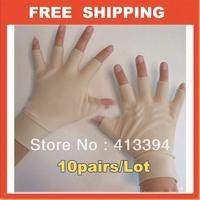 New 10 Arthritis Gloves Carpal Hand Ache Pain Rheumatoid THERAPY Health Care Free Shipping