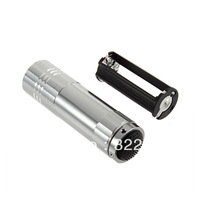 9*LED CREE Q5 250LM Torch light Torch Zoomable Flashlight Power For  AAA -Whosale