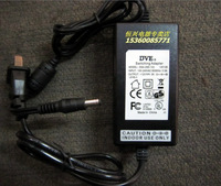 Ac dc adapter dc 100v--240v 12v3a with cable