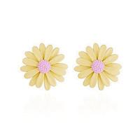 Free shipping Female flowers earrings
