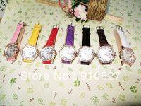 2013 New Arrival Brand Famous Crystal Diamond Women Quartz Dress Watch Wristwatch wholesale 300pcs DHL free shipping