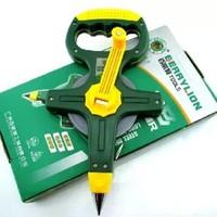 Portable frame steel tape site/engineering survey using long steel ruler flexible rule 50M