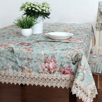 Dining table cloth american tablecloth fabric tablecloth table cloth rectangle square table cloth table runner