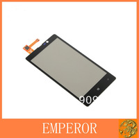 Black Front Touch Screen with Digitizer Replacement for Nokia Lumia 820 N820 free shipping