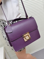 Women's bags 2013 cowhide motorcycle bag fashion vintage shoulder bag female handbag cross-body bag