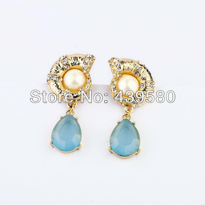 New Arrival Women Qingdao Factory Hot Sale Fashion Dangle Couch Earrings(China (Mainland))