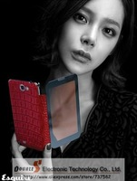 2013 NEW Arrival Case For Note2 Note2 II N7100 7100 Fashion crocodile leather Case from Korea.Good Quality