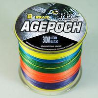 8 braid 300M 60LB Multicolor  Braided braid Fishing Line