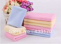 Free Shipping Suitable Multifunction Towel Baby Supplies Velvet Baby Face Towel Child Small Baby washcloth Facecloth Handerchief