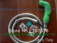 Free Shipping Handheld / Portable bidet Diaper Sprayer Shattaf TS078F-SET Shattaf head+braided hose+wall bracket+fitting parts