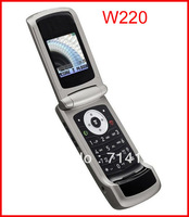 NEW-original unlocked W220 mobile phones cell phones Freeshipping by EMS 5pcs/lot-A