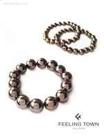 1111feelingtone champagne color beaded bracelet