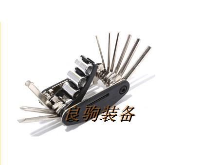 NEW Bicycle tools multifunctional 16 1 folding repair tools mountain bike high quality tool FREE SHIPPING(China (Mainland))
